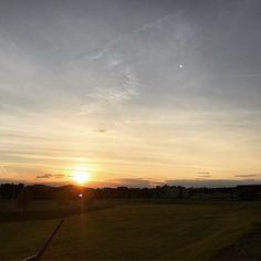 Nothing quite like a UMaine sunset  #goumaine #BlackBearNation #definetomorrow Ⓜ️