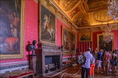 Версальский дворец ‒ Салон Меркурия