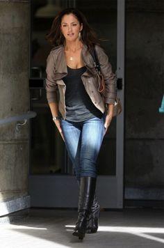 7d37fd8ffa8 Favourite female oc character meme  Katerina Hale face claim Minka Kelly  free to live