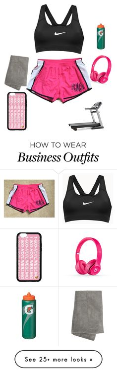 """""""Work out✌️"""" by cute3333 on Polyvore featuring NIKE and Marika"""