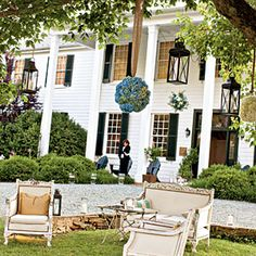 The Clifton Inn in Charlottesville, Virginia would make for a picturesque wedding location.