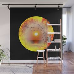 New in my gallery! artwork for sale! Enjoy browsing and discovering in my society6 shop! Order now: https://society6.com/product/meditatin-2_wall-mural?sku=s6-9162837p68a215v760 #society6promo #society6 #artsales #shoponline #discountshopping #newdesign #drawing #mygallery #art #creation #uniqueart #uniquepainting #uniqueworks With our Wall Murals, you can cover an entire wall with a rad design - just line up the panels and stick them on. They're easy to peel off too, leaving no sticky…