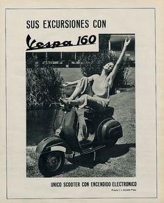 advertisement vespa 160