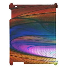 Rainbow Dance iPad case