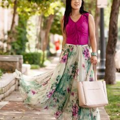 A flowy ethereal skirt for a beautiful breezy day!