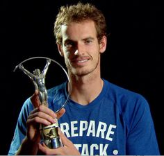 El tenista Andy Murray en los Premios Laureus 2013 #deportistas #famosos #people #celebrities