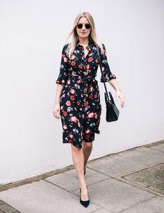 Marissa Montgomery | My Week in Beulah | Alice Print Shirt Dress