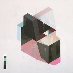 Albert Ruiz Villar, Paintings.Geometric paintings by Albert Ruiz Villar who lives and works in Barcelona, Spain. At times these seem to me created by something with a digital or artificial mind which...