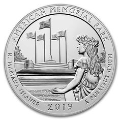 American Memorial Park Coin - American Memorial Park Mariana Islands is the coin in the 2019 America The Beautiful National Park Series. The post American Memorial Park Coin appeared first on POSPO Investments. Bullion Coins, Silver Bullion, Old Coins, Rare Coins, Silver Coins For Sale, American Coins, American History, Valuable Coins, Coin Design
