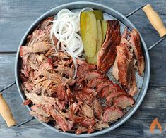 Upgrade your pulled pork sandwiches and carnitas tacos with Barrel House Cooker smoked pork butt.1 pork butt  2 tablespoons Meat Church Honey Hog  2 tablespoons, plus 1 teaspoon Loot N Booty BBQ Everything Rub  1/2 stick of butter  1 tablespoon Worcestershire sauce  1/4 cup colaTrim the excess fat from the pork butt.   Rub the butt
