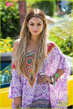 Vanessa Hudgens & Ashley Benson Reunite at Coachella Pool Party!