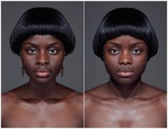 Symmetrical Portraits by Julian Wolkenstein (Australia)