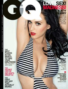 I love it when we get to see the sexy side of Katy Perry. She's definitely not finished promoting her newest album. In this issue, she sits down with GQ to talk about her music and personal life.