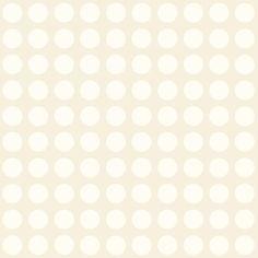 Papel de Parede de Bolinhas Bege e Branco Peek a Boo YS9256