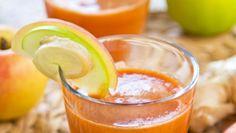 Jabkovo-mrkvové smoothie so zázvorom