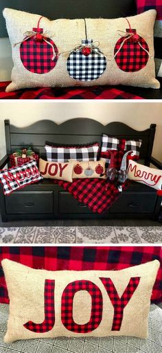 Low Cost Insurance Plan For The Welfare Of Your Loved Ones Burlap Christmas Pillows Buffalo Plaid Christmas Pillow Buffalo Plaid Christmas Farmhouse Christmas Pillow Rustic Christmas Farmhouse Christmas Decor, Rustic Christmas, Winter Christmas, Christmas Home, Burlap Christmas Decorations, Diy Christmas Pillows, Christmas Pillow Covers, Farmhouse Decor, Christmas Sweets
