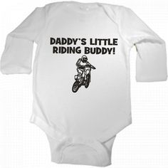 Hey, I found this really awesome Etsy listing at https://www.etsy.com/listing/194607276/daddys-little-riding-buddy-dirtbike