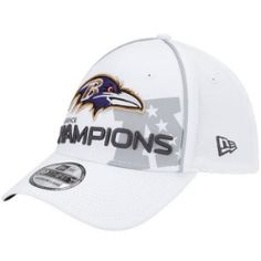 Baltimore Ravens 2012 AFC Conference Champions Trophy Collection T-Shirt - White