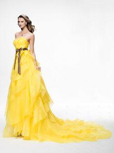 Yellow Beautiful dress