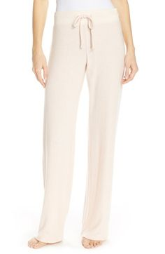 Make + Model 'Best Boyfriend' Brushed Hacci Lounge Pants available at #Nordstrom