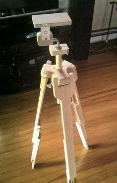 Homemade Large Tripod Telescope Project Pinterest
