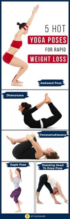It is also the best option for those who want to improve their body posture. Following are the yoga postures for weight loss which one can practice easily at home
