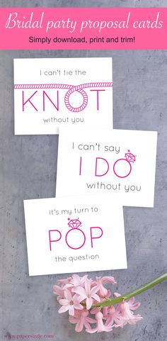 Propose to the girls in your life to be part of your bridalparty with thesecute bridal party proposal cards // Proposal Card Ideas // Proposal Card Bridal Parties // Bridesmaids Proposal DIY // Proposal Bridesmaids Ideas // Maid of Honor Proposal Printa
