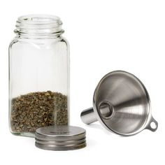 Stainless Steel Funnel - For Filling Narrow Jars and Bottles, 1 pc   $6.39 & FREE Shipping
