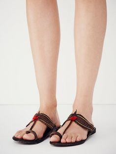 Free People Moroccan Slip on Sandal