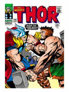 Marvel Comics Retro: The Mighty Thor Comic Book Cover No.126, Hercules  $29.99