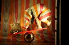 """Le Cirque Louis Vuitton"" holiday window"