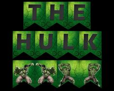 The Hulk Banner Party Printable Party Printables, Hulk, Banner, Movie Posters, Banner Stands, Film Poster, Banners, Popcorn Posters, Incredible Hulk