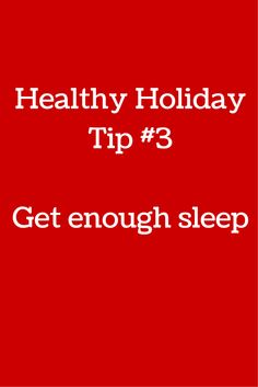 Sleep is crucial to staying healthy and fit.