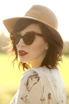 I love Keiko Lynn's blog, and love her hair as inspiration