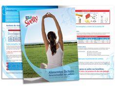 Diseño publicitario/editorial - Stop Diseño Gráfico - Diseño de Dossier Svelty 1 - Nestlé México.