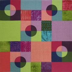 3 Trans Circles quilt