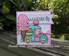 Rose Blossom Legacies: Rose Blossom Blog Hop - Ice Cream Dream
