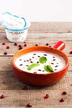 Pomegranate Mint Raita #MadeWithChobani