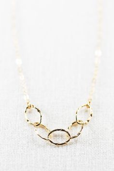 Leilani necklace - gold necklace, delicate gold necklace, dainty, simple, necklace by kealohajewelry https://www.etsy.com/listing/190542730 http://instagram.com/kealohajewelry