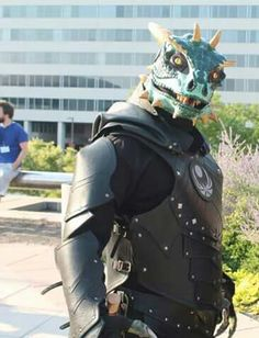 Argonian cosplay