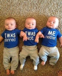 What a great way to announce triplets :)