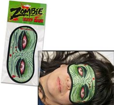 I have this strange obsession with sleep masks. I love to own them, but I can't stand wearing something on my face while I sleep. I might just make an exception for this mask.