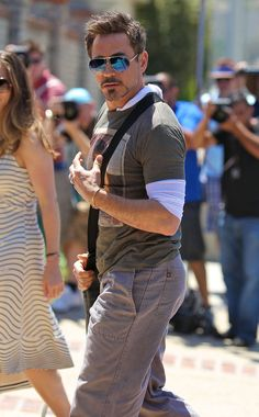 Robert Downey Jr. sexy as ever at Joel Silver's Memorial Day Party 2012