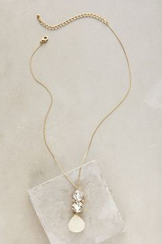 Stardrop Necklace #anthropologie