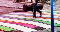 Artist+Painted+Crosswalks+In+Madrid+To+Raise+Awareness+In+Traffic
