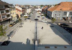 Marktplatz Würselen: lad+ landschaftsarchitektur diekmann | hannover | germany
