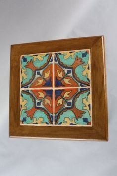 1920s-Tile-Table-Tudor-Company-Los-Angeles-Colorful-Tiles-California-7610 1920s, Porch Tile, Tile Tables, Italy House, Vintage Tile, Vintage California, Spanish Revival, Tiles, Ebay