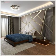35 Amazingly Pretty Shabby Chic Bedroom Design and Decor Ideas - The Trending House Modern Luxury Bedroom, Luxury Bedroom Design, Modern Master Bedroom, Bedroom Bed Design, Bedroom Furniture Design, Luxurious Bedrooms, Decor Interior Design, Diy Bedroom Decor, Bedroom Ideas
