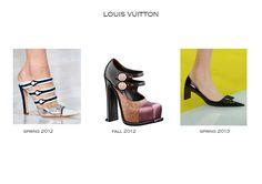 Shoe trends effect: LOUIS VUITTON