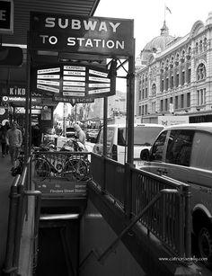 Flinder's Street Station, Melbourne